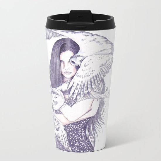 Winteress Metal Travel Mug