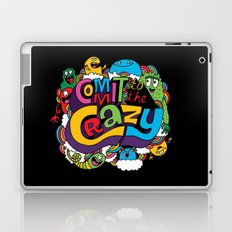 Commit to the Crazy Laptop & iPad Skin