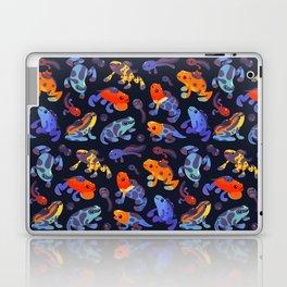 Poison dart frogs - dark Laptop & iPad Skin