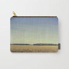 Lonely Field in Blue Carry-All Pouch