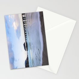 Hanalei Bay Pier at Sunrise Stationery Cards