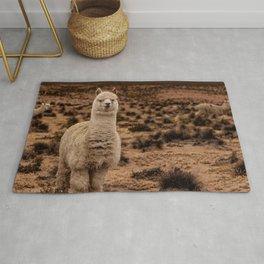 Llama Colca Canyon Rug