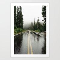 Mt. Rainer Art Print