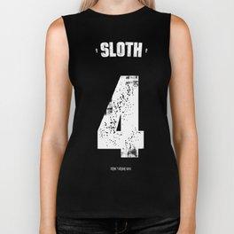 7 Deadly sins - Sloth Biker Tank