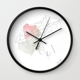 Inverted Lens II Wall Clock