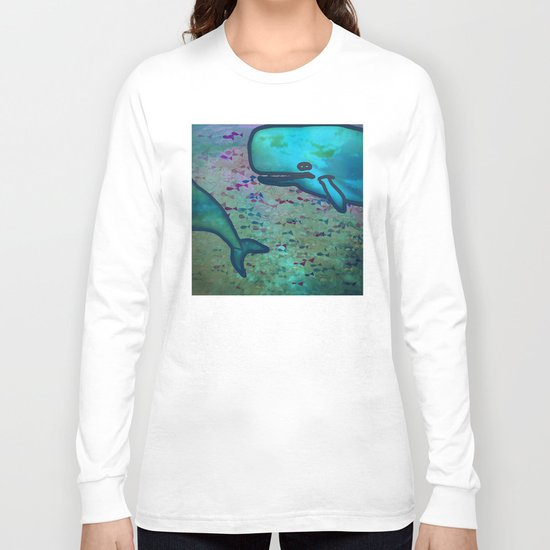Dear Whale Long Sleeve T-shirt