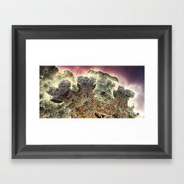 Niheeli surf and turf Framed Art Print