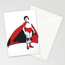 Luchador Stationery Cards