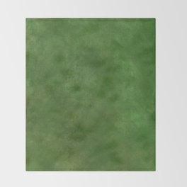 Green Ombre Throw Blanket