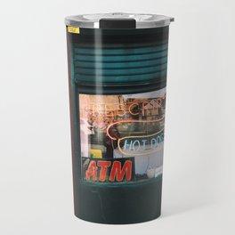 prescriptions//hot dogs Travel Mug