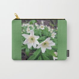 Fresh in White Carry-All Pouch