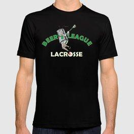Beer League Lacrosse T-shirt