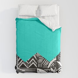 Sky lino bright Comforters