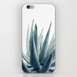 Agave Blue Vibe #1 #tropical #decor #art #society6 iPhone Skin