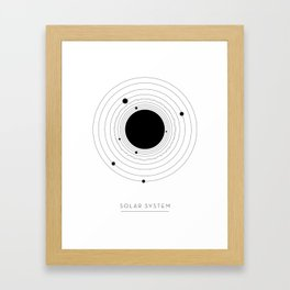 The Solar System Framed Art Print