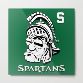 This Is So Cool Spartans Metal Print