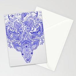 Little Blue Deer Stationery Cards