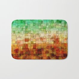 Golden Tide Mosaic Bath Mat