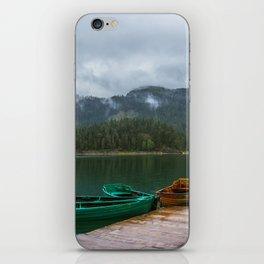 Black Lake iPhone Skin