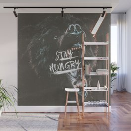 Stay Hungry | Motivational Quote Wall Mural