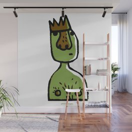 Am i really the king? Wall Mural