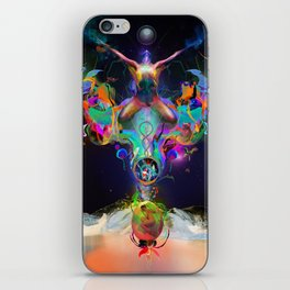 Fractalised Duality iPhone Skin