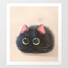 Fluffy Sushi Art Print