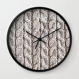 Winter Background 26 Wall Clock