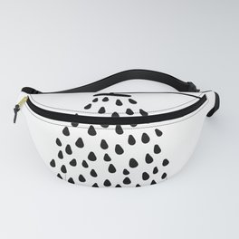 Shower drops with feucet on the right side Fanny Pack