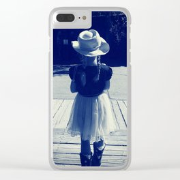 Cowgirl Clear iPhone Case