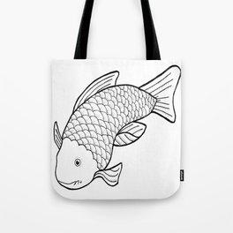 Cheeky Fish Tote Bag
