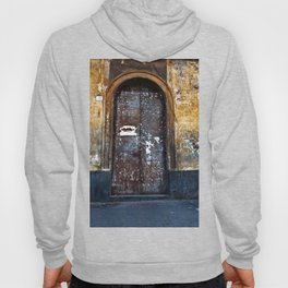 Old Sicilian door of Catania Hoody