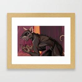 The New Rat Framed Art Print
