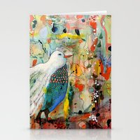 andreas preis Stationery Cards featuring vers toi by sylvie demers