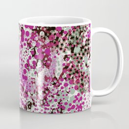 sparkling dots in raspberry Coffee Mug