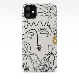 In The Jungle iPhone Case