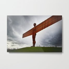 Angel of The North, Newcastle, UK. Metal Print