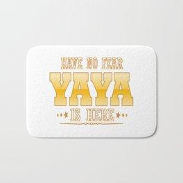 YAYA IS HERE Bath Mat