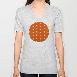 """Polka Dots Degraded & Orange Cream"" Unisex V-Neck"