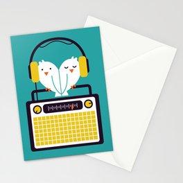 Radio Mode Love Stationery Cards