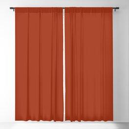 Best Seller Colors of Autumn Burnt Orange Single Solid Color Blackout Curtain