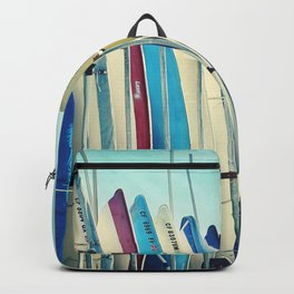 California surfboards Backpack