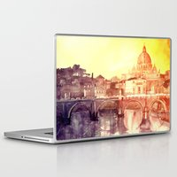 rome Laptop & iPad Skins featuring Rome by takmaj