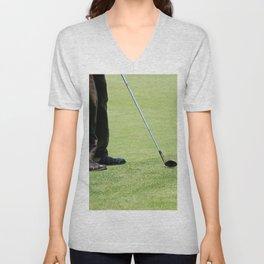 Golf Feet Unisex V-Neck