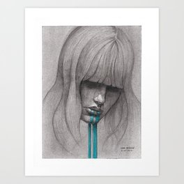 NaNoDrawMo 2012 - 01 Art Print