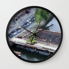 Rosie Hackett Bridge Dublin Wall Clock