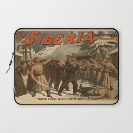 Vintage poster - The New Siberia Laptop Sleeve