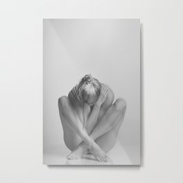 Photograph Nude Woman Metal Print
