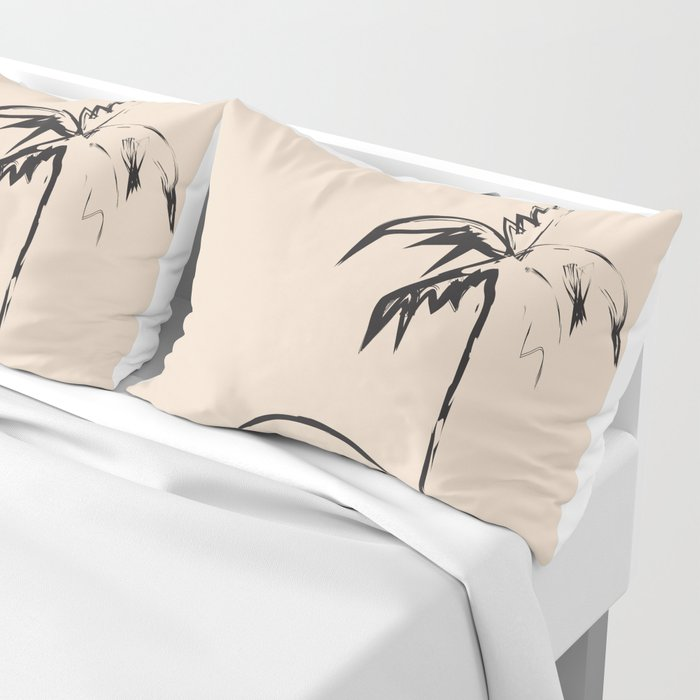 Abstract Landscpe Pillow Sham