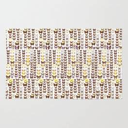 butterfly display Rug